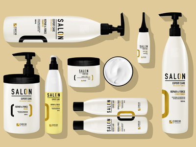 Salon Packaging Design Hair Cosmetic