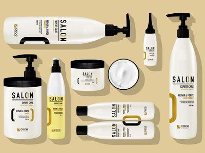 Salon Packaging Design Hair Cosmetic