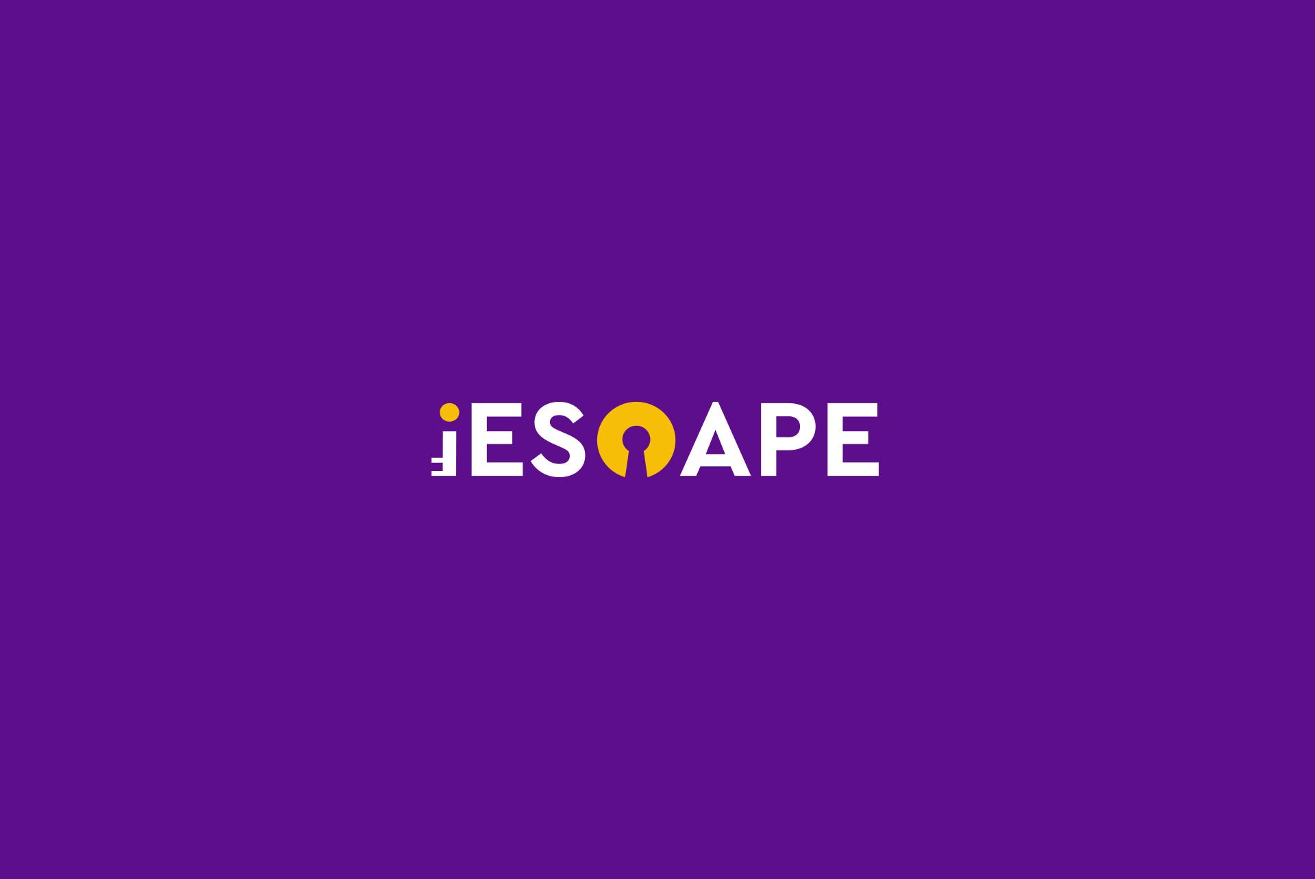 Logo iESCAPE key keyhole