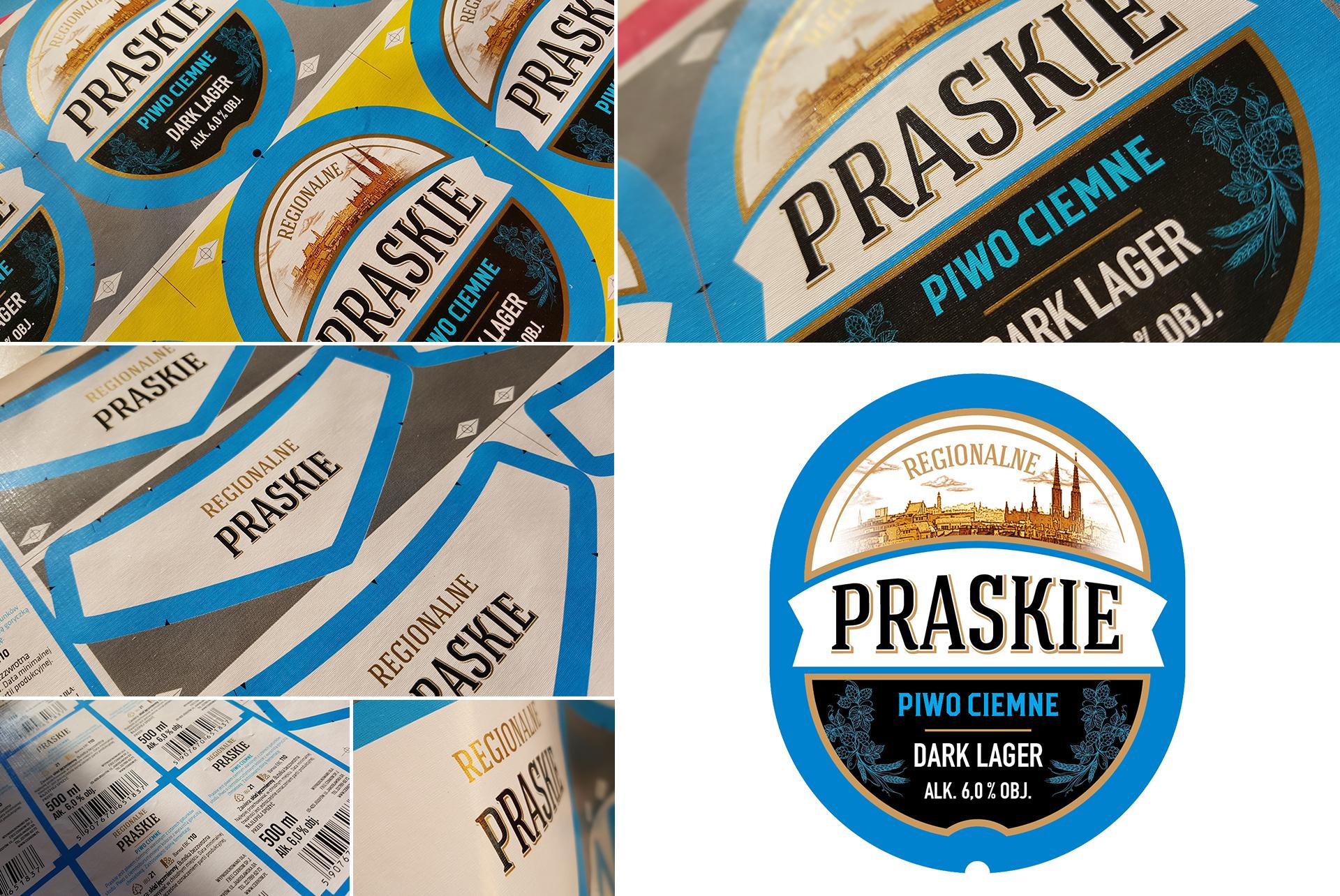 Piwo-Etykieta-Praskie-Regionalne-Beer-Label-Design