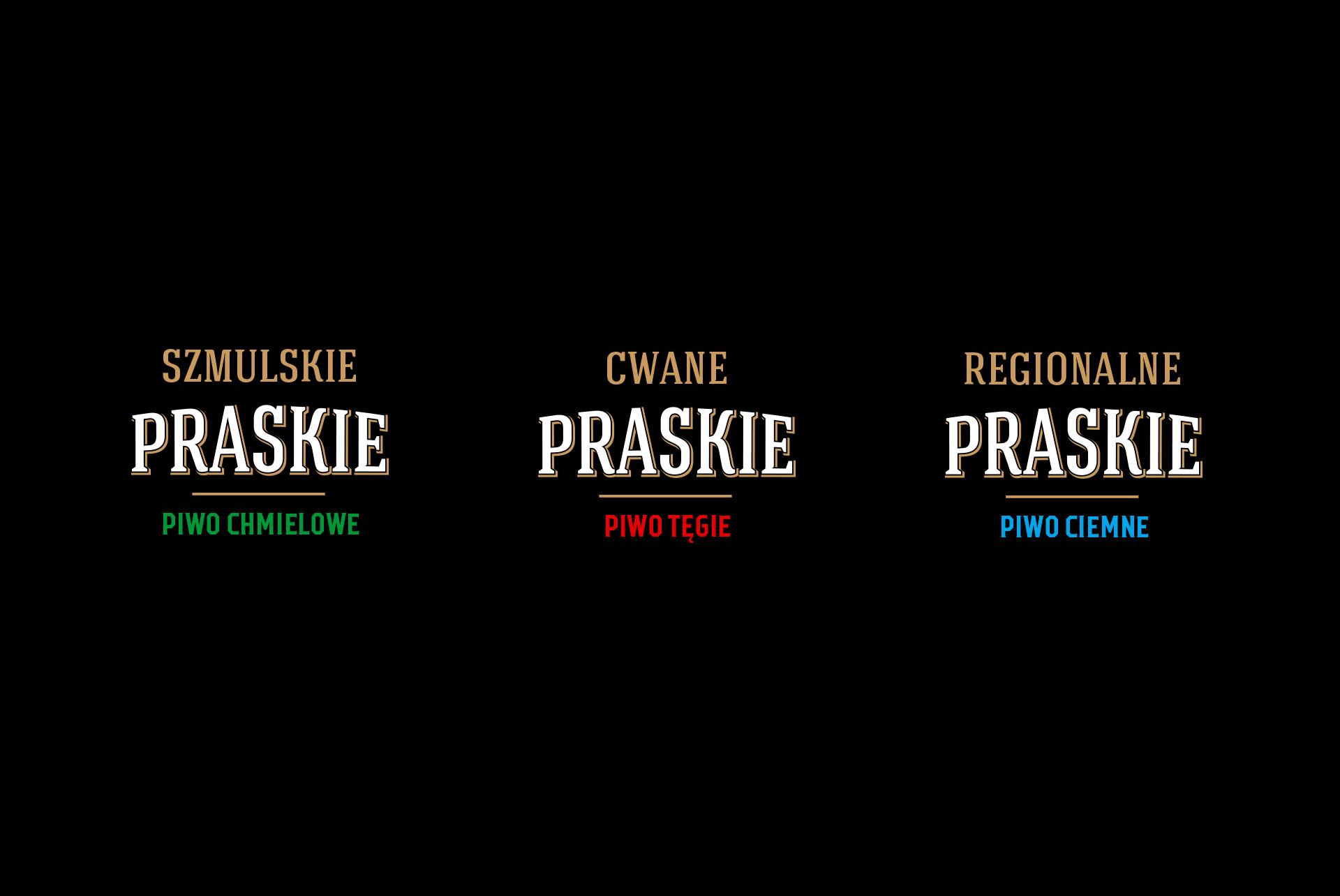 Praskie Beer Logo Design
