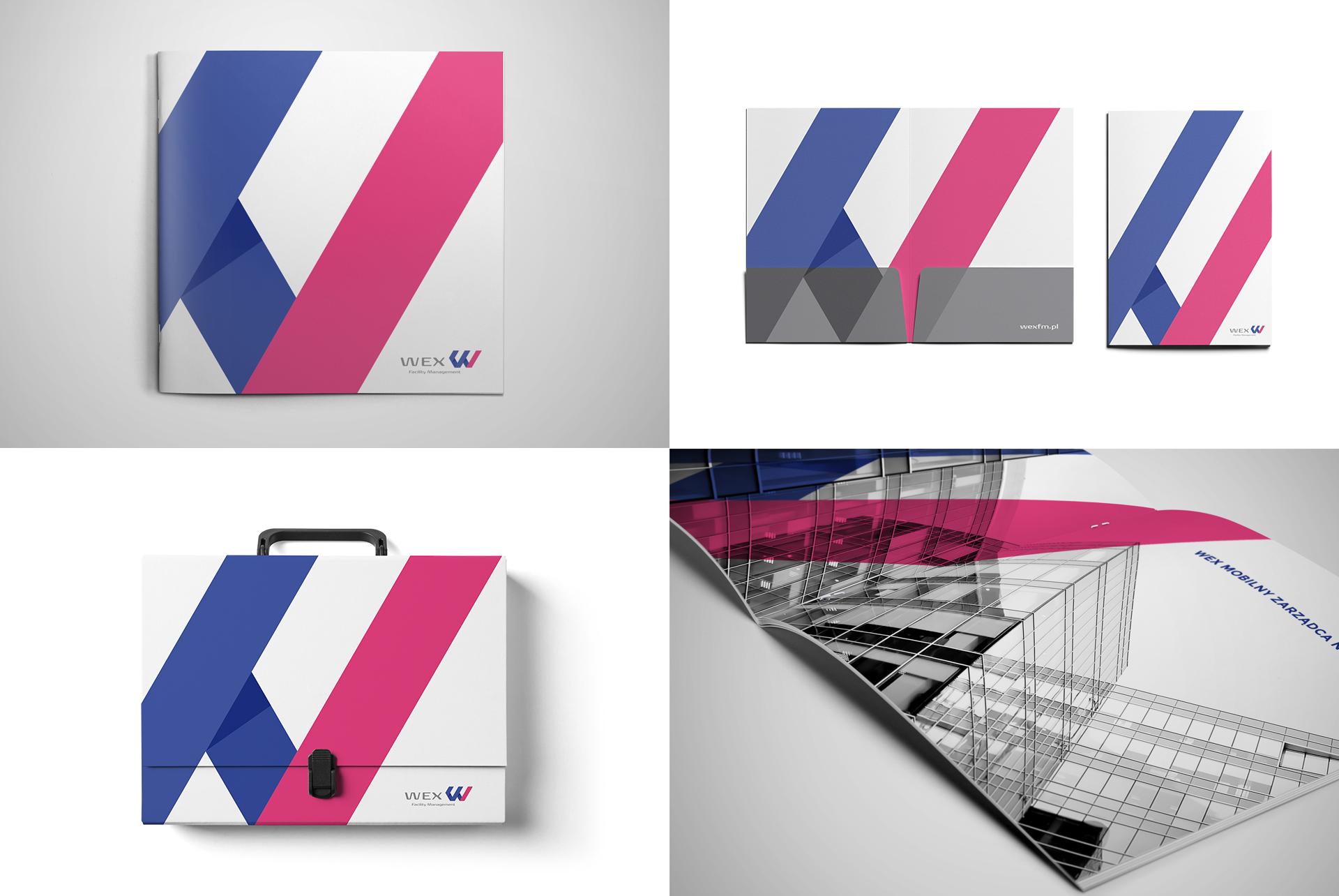 WEX Facility Management Brochure Design