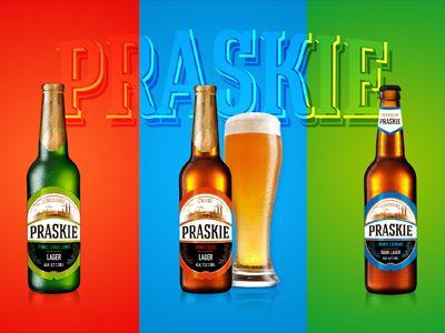 Piwo Praskie Beer Label Design