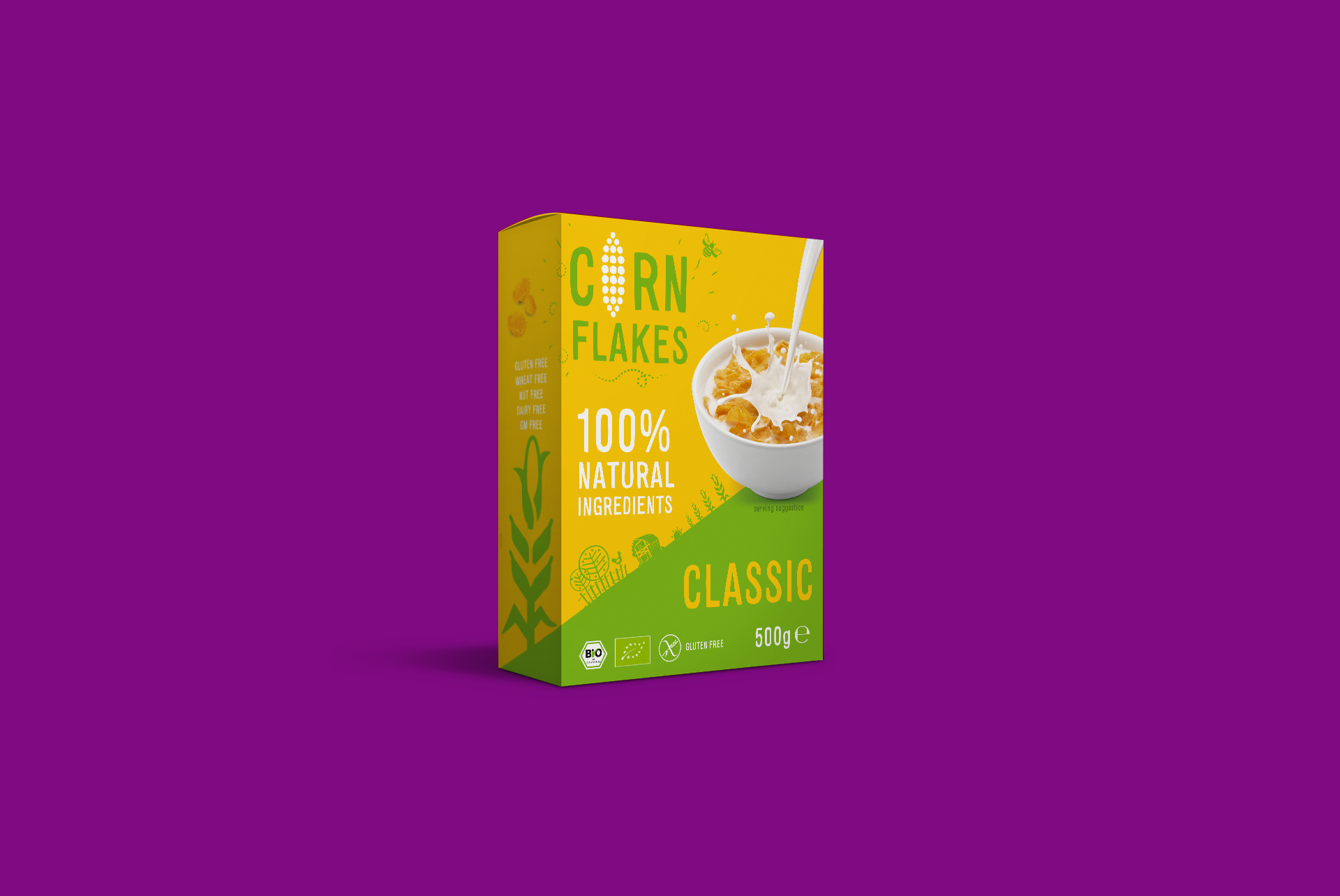 Corn Flakes Classic Packaging Design