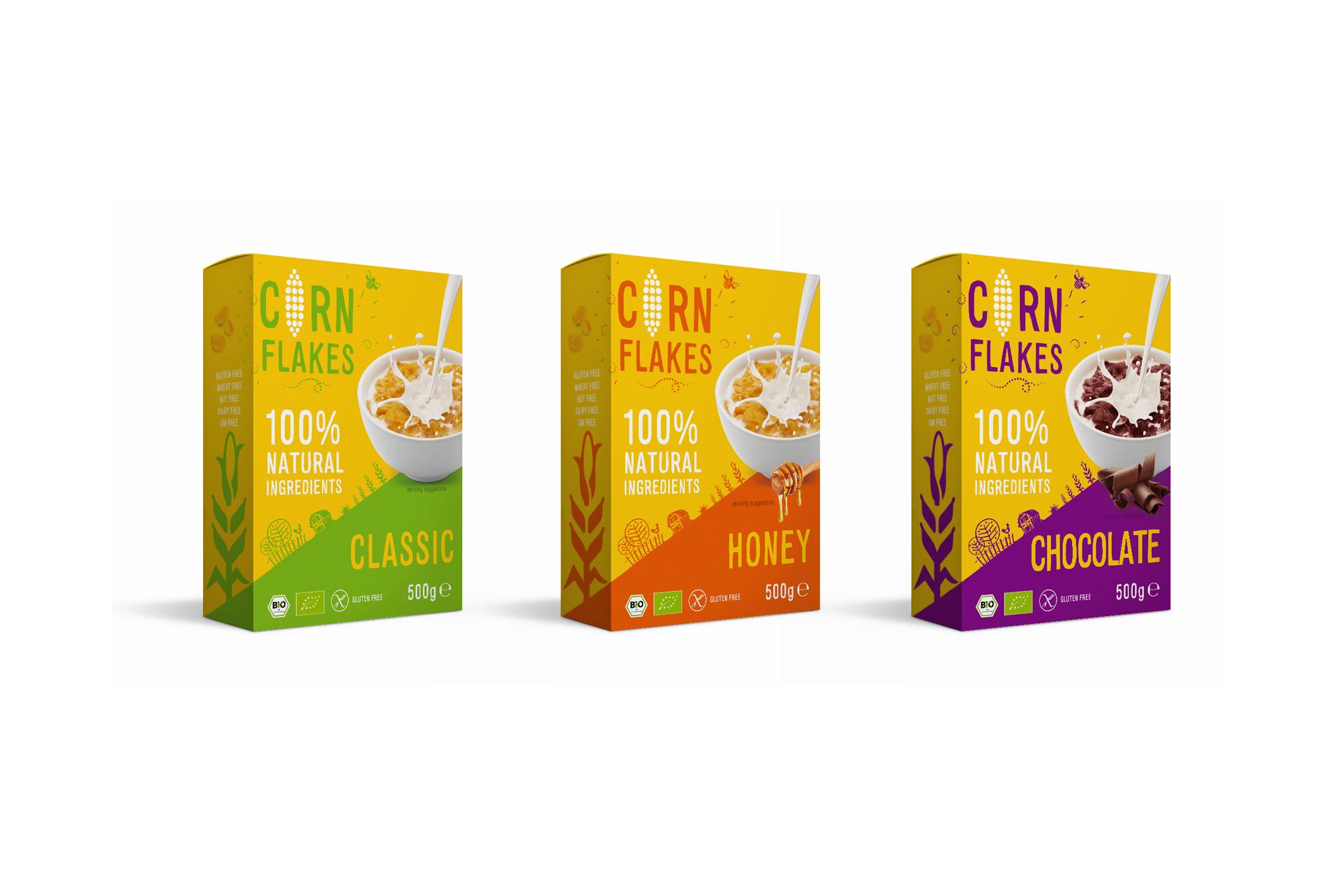 Corn Flakes Packaging Design