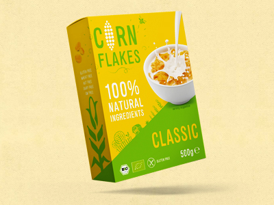 Corn Flakes Packaging Design