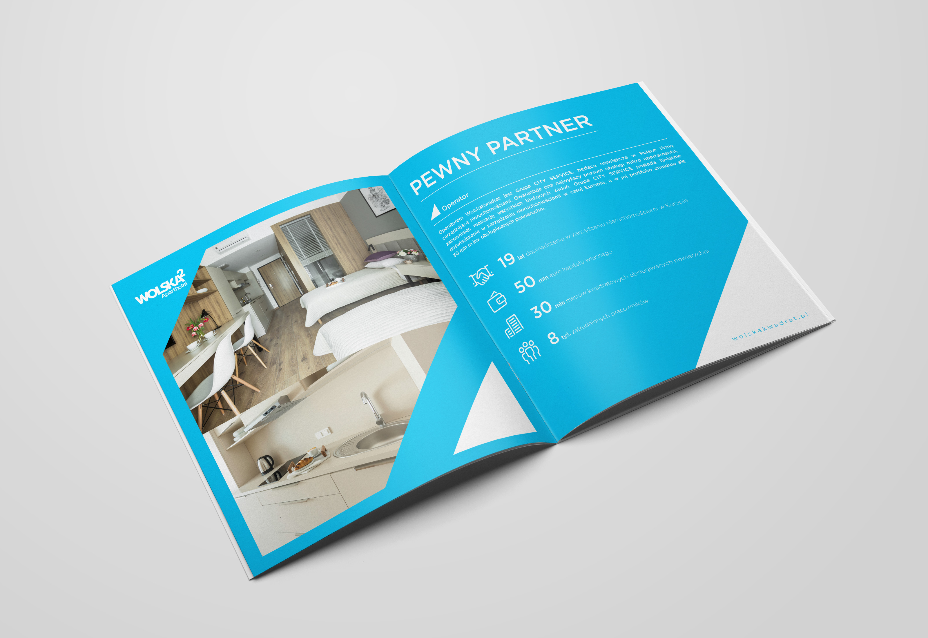 Wolska Kwadrat Property brochure design