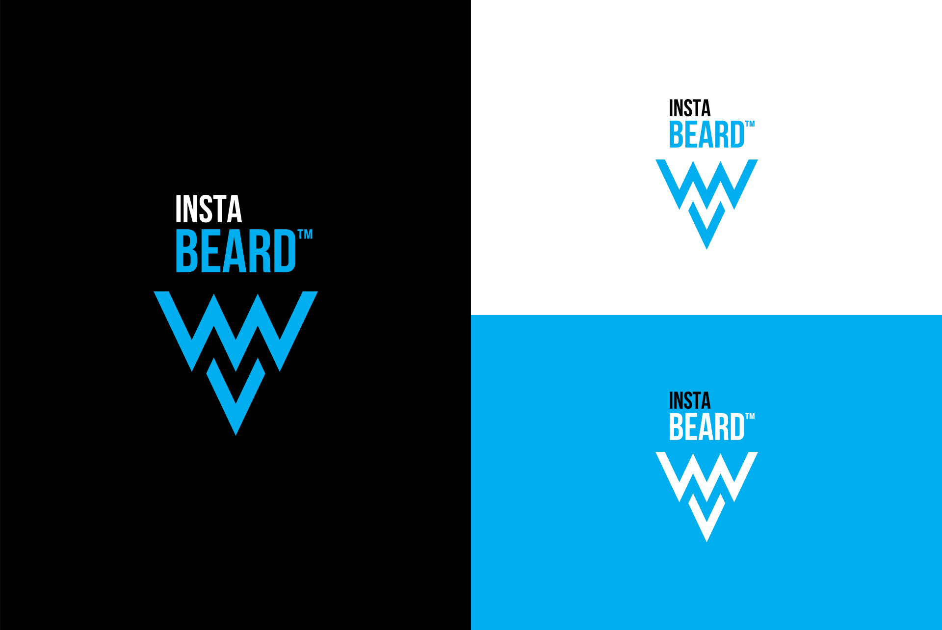 Logo Supplement Packaging Design Instabeard