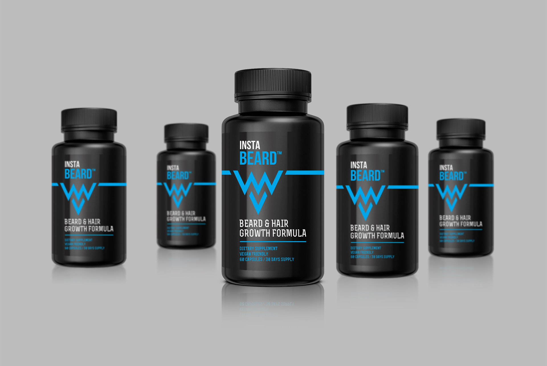 Supplement Packaging Design Instabeard