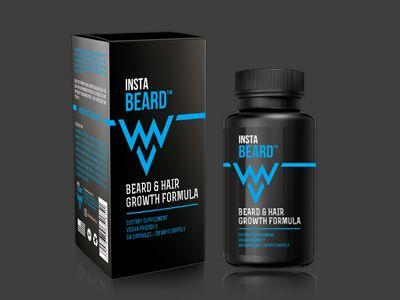 Supplement Packaging Design Instabeard