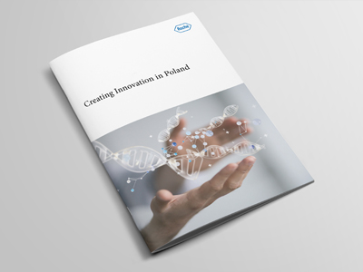 Company Profile Brochure Design Roche