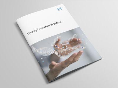 Company Profile Brochure Design Roche