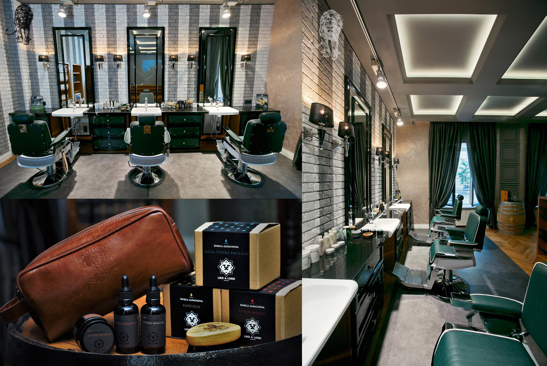 Like a Lord Barber Branding Cosmetics