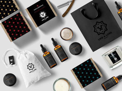 Barber Branding Cosmetics & Candles Like a Lord