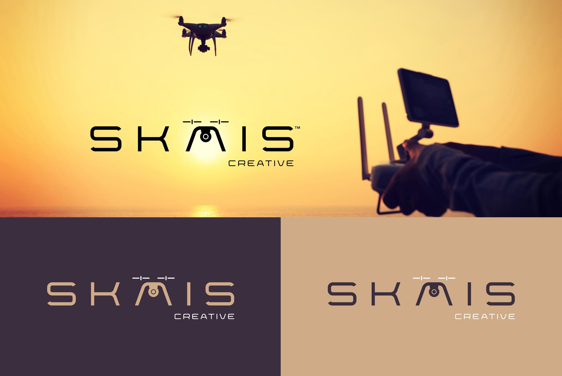 Logo Drone Branding