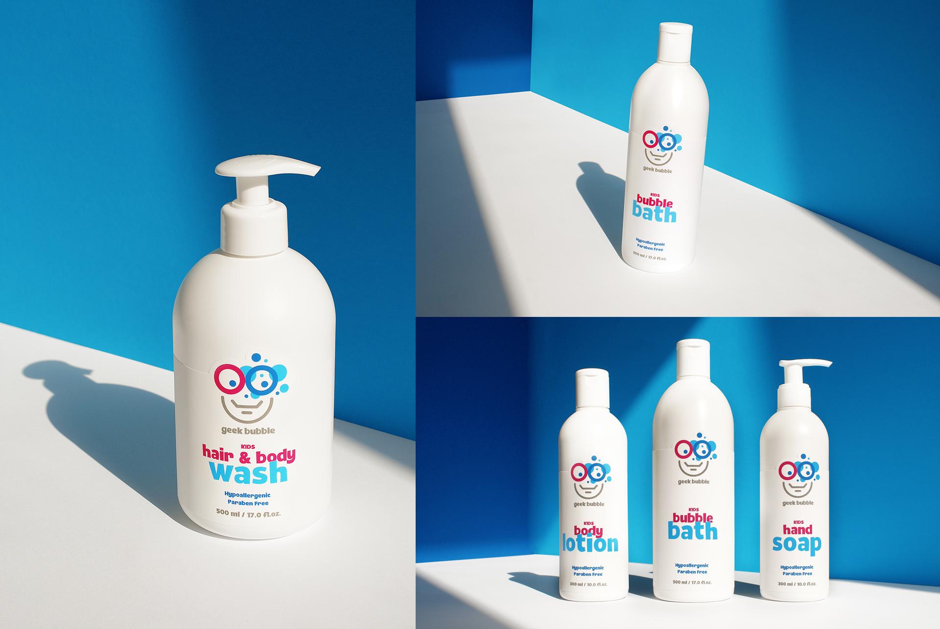 Branding Cosmetic Kids Packaging Design Label