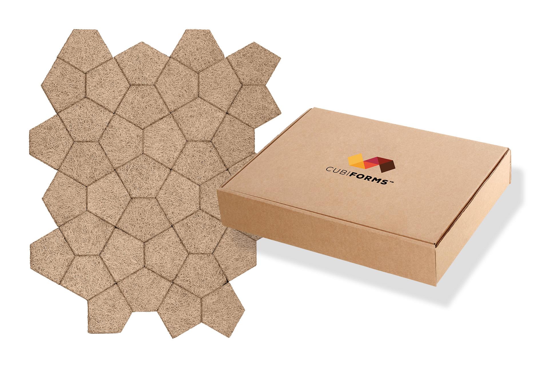 CubiForms Logo Packaging Design