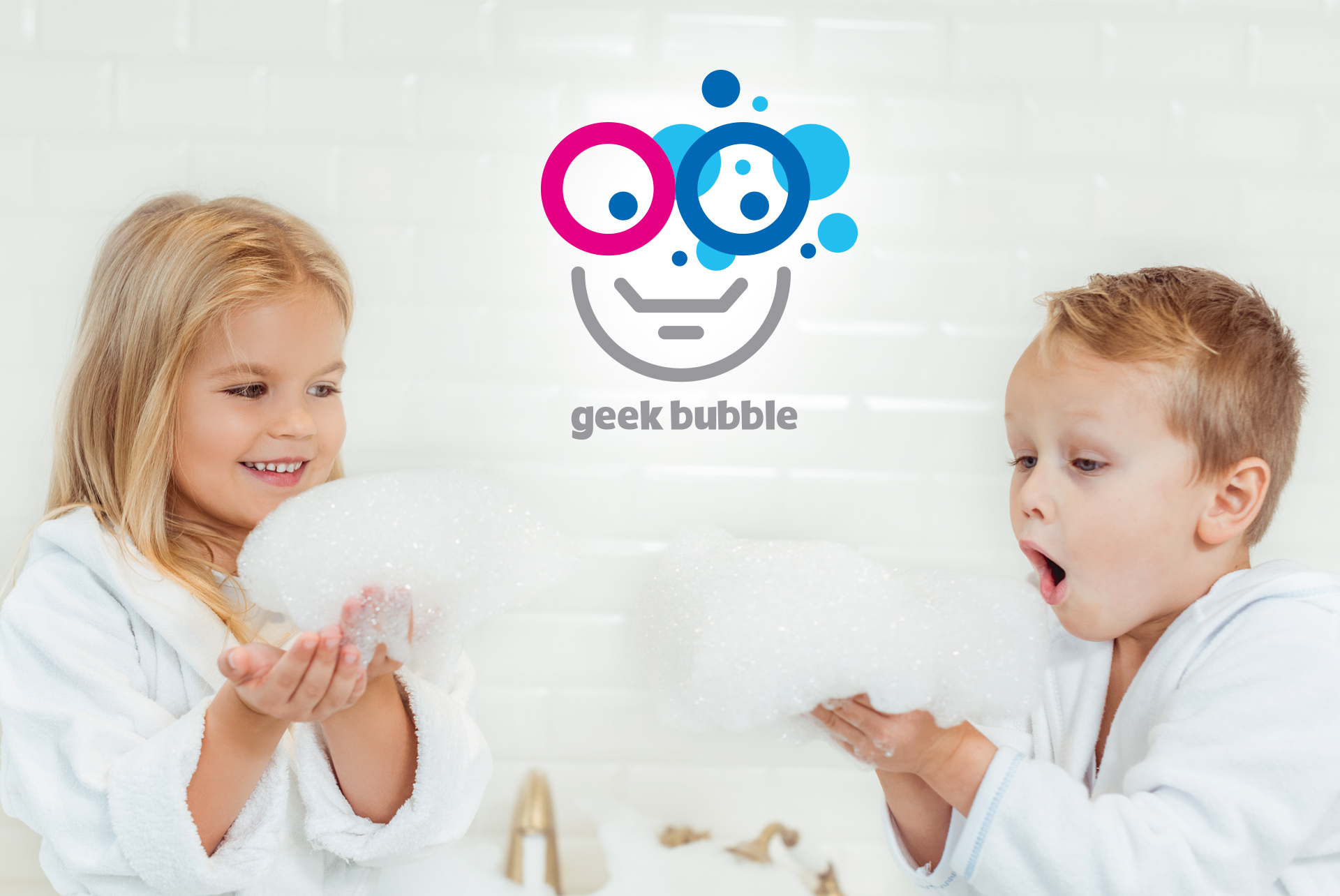 Geek Bubble Logo Cosmetics Kids