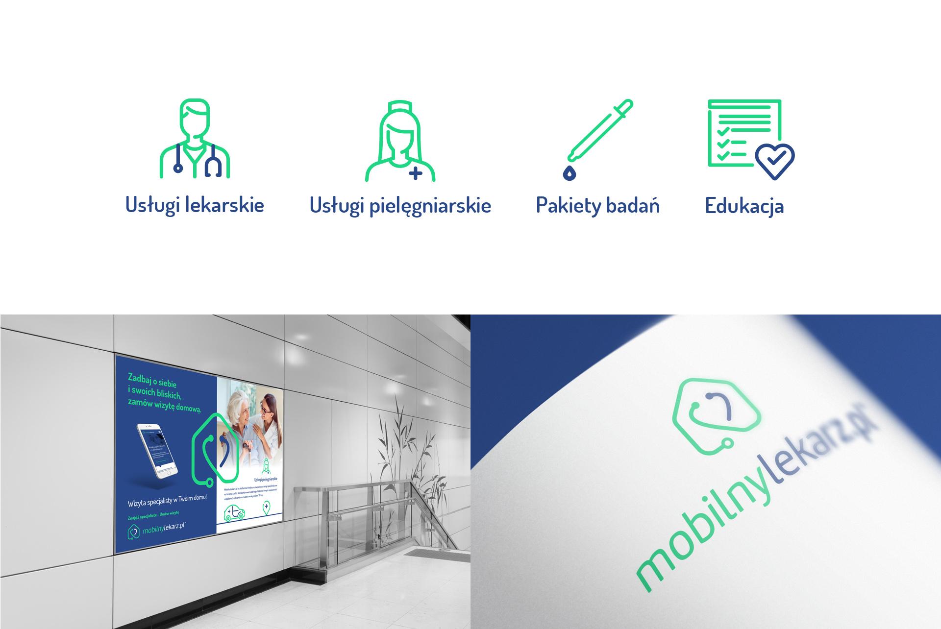 Medical Corporate Identity Piktogram Ikony Icons
