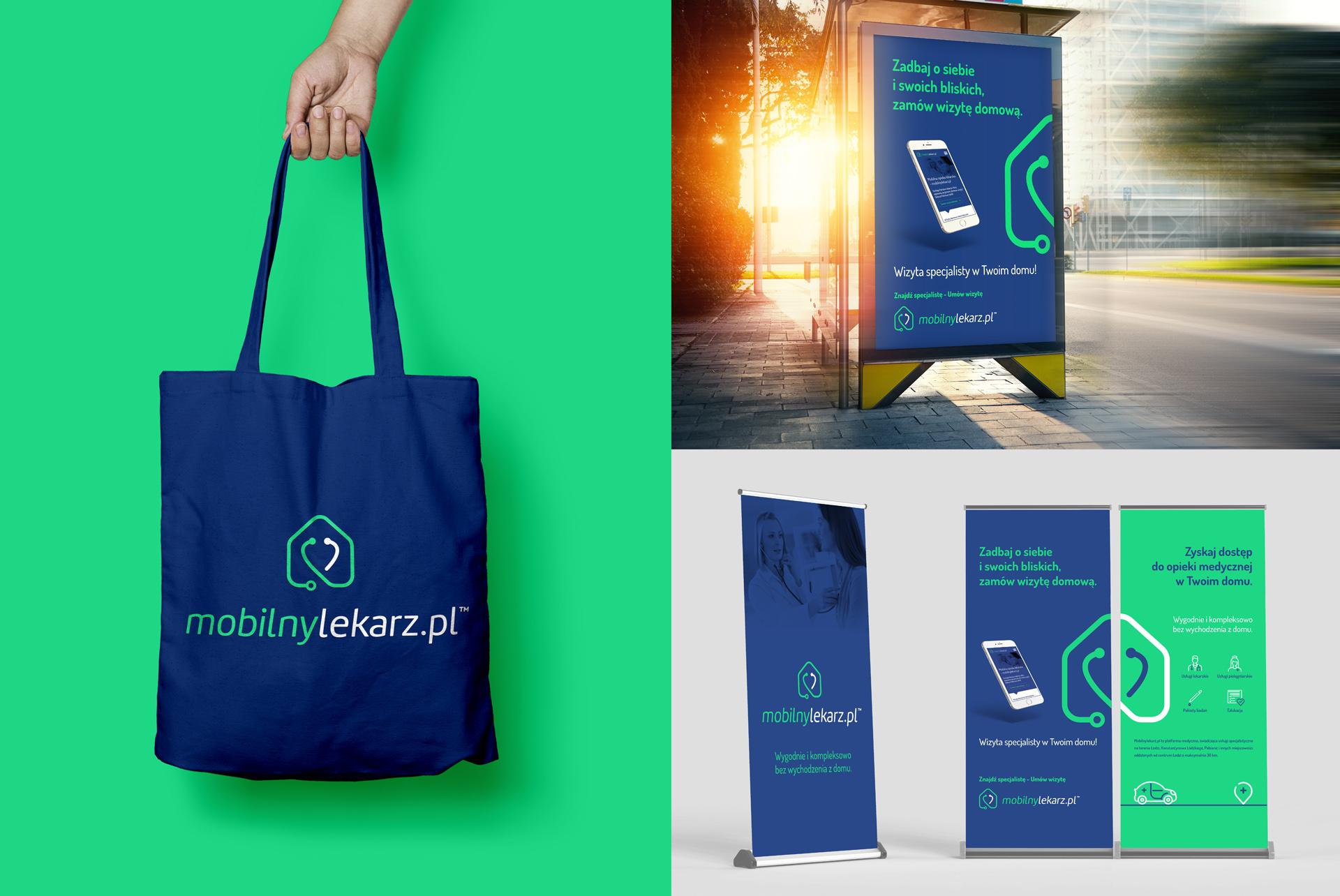 Mobilny Lekarz Branding Corporate Identity