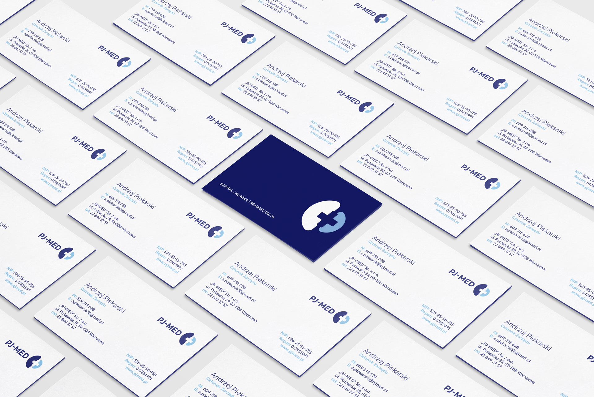 PJMED medical corporate identity
