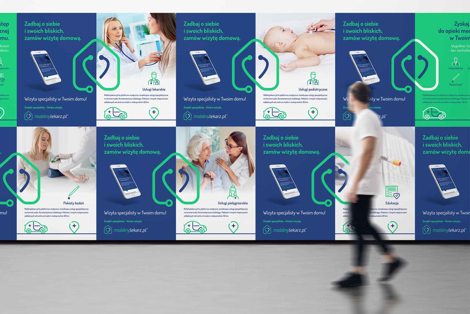 Poster Key Visual Branding Medical