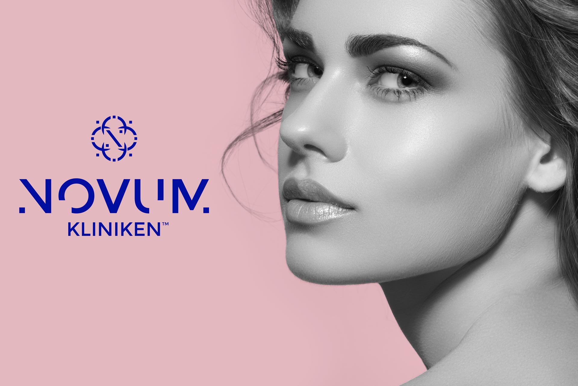 Projekt logo makijaż permanentny klinika medycyny estetycznej