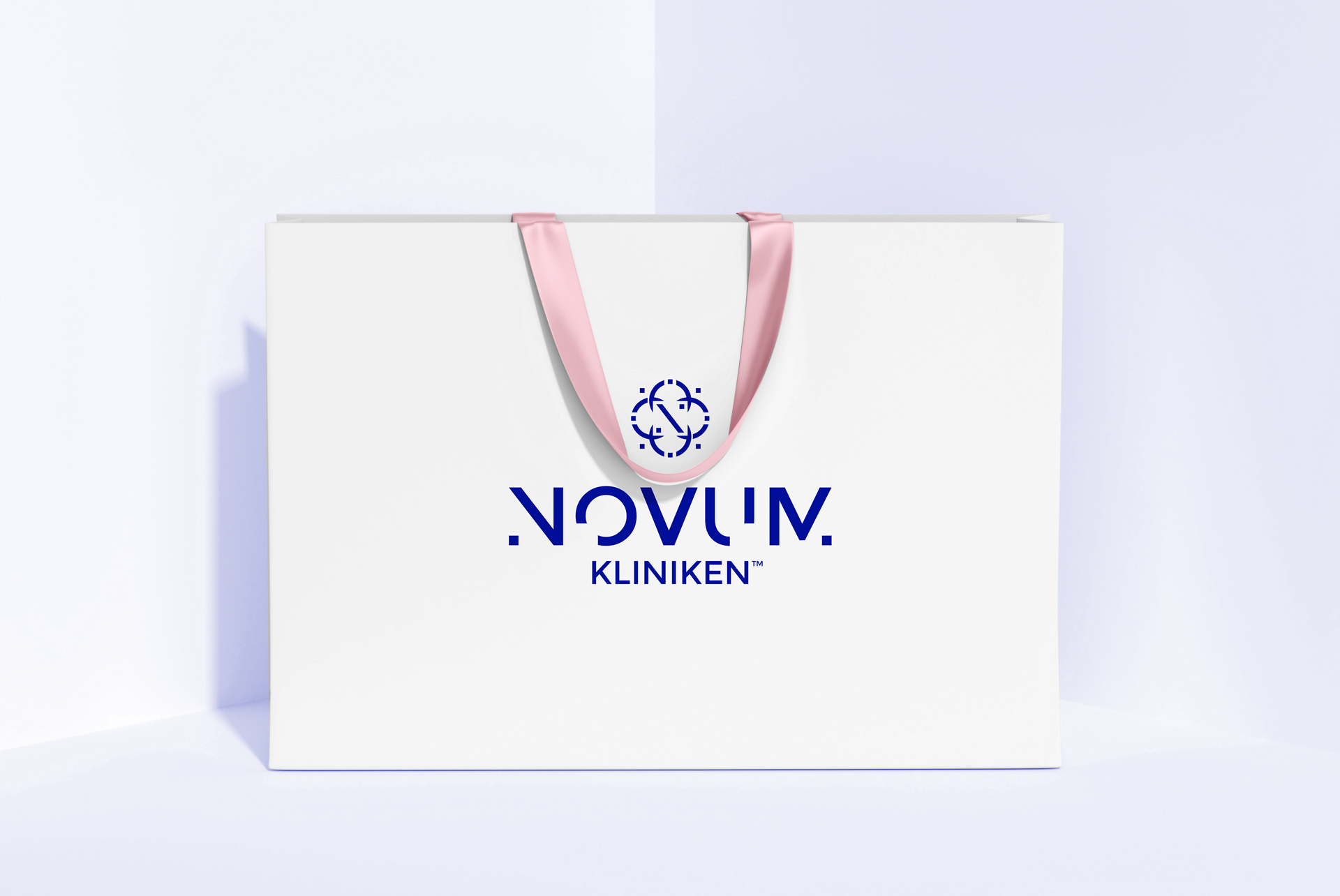 logo medical esthetic paper bag premium