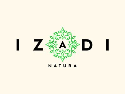 Logo for natural cosmetic company
