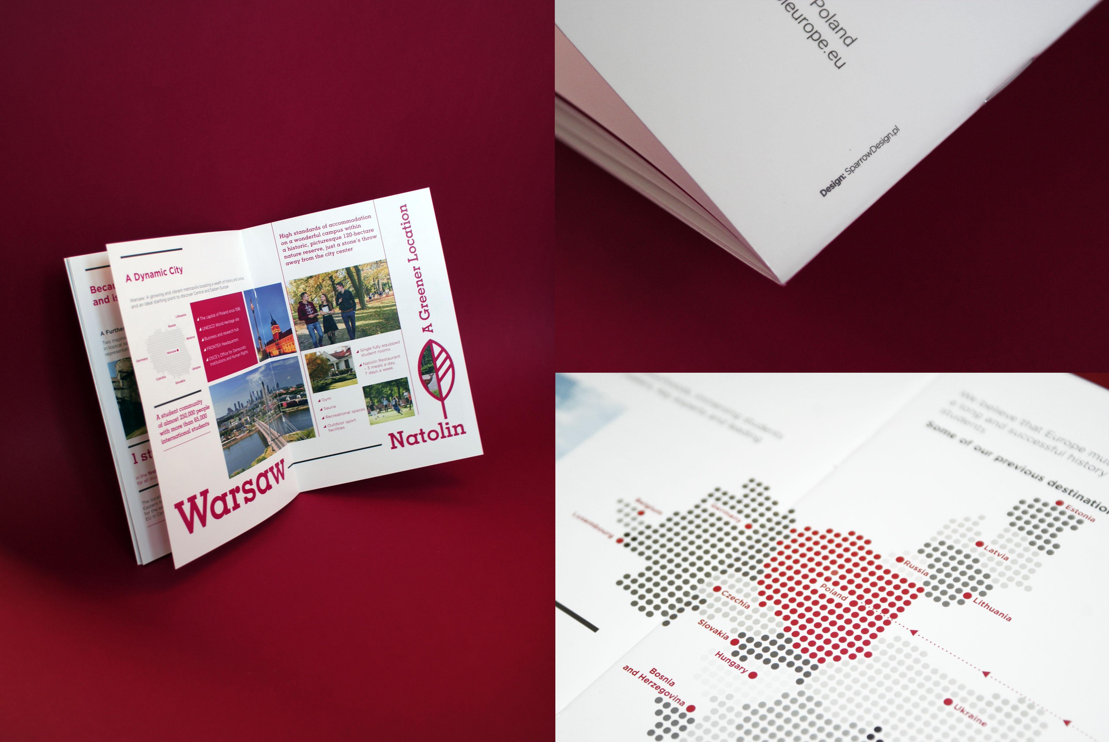 Folder wizerunkowy Brochure Design