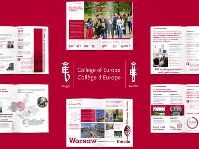 Folder wizerunkowy Kolegium Europejskie