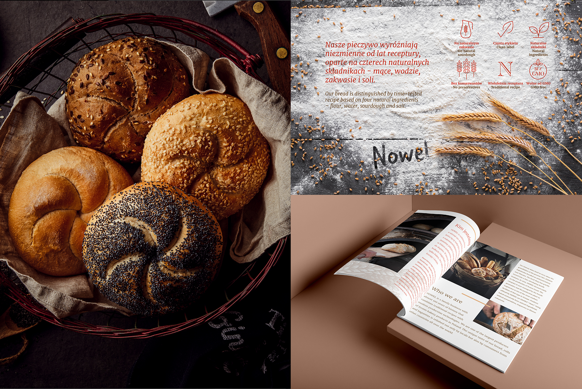 Bakery products brochure design