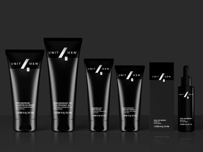 Branding Men's Cosmetics Unit4Men