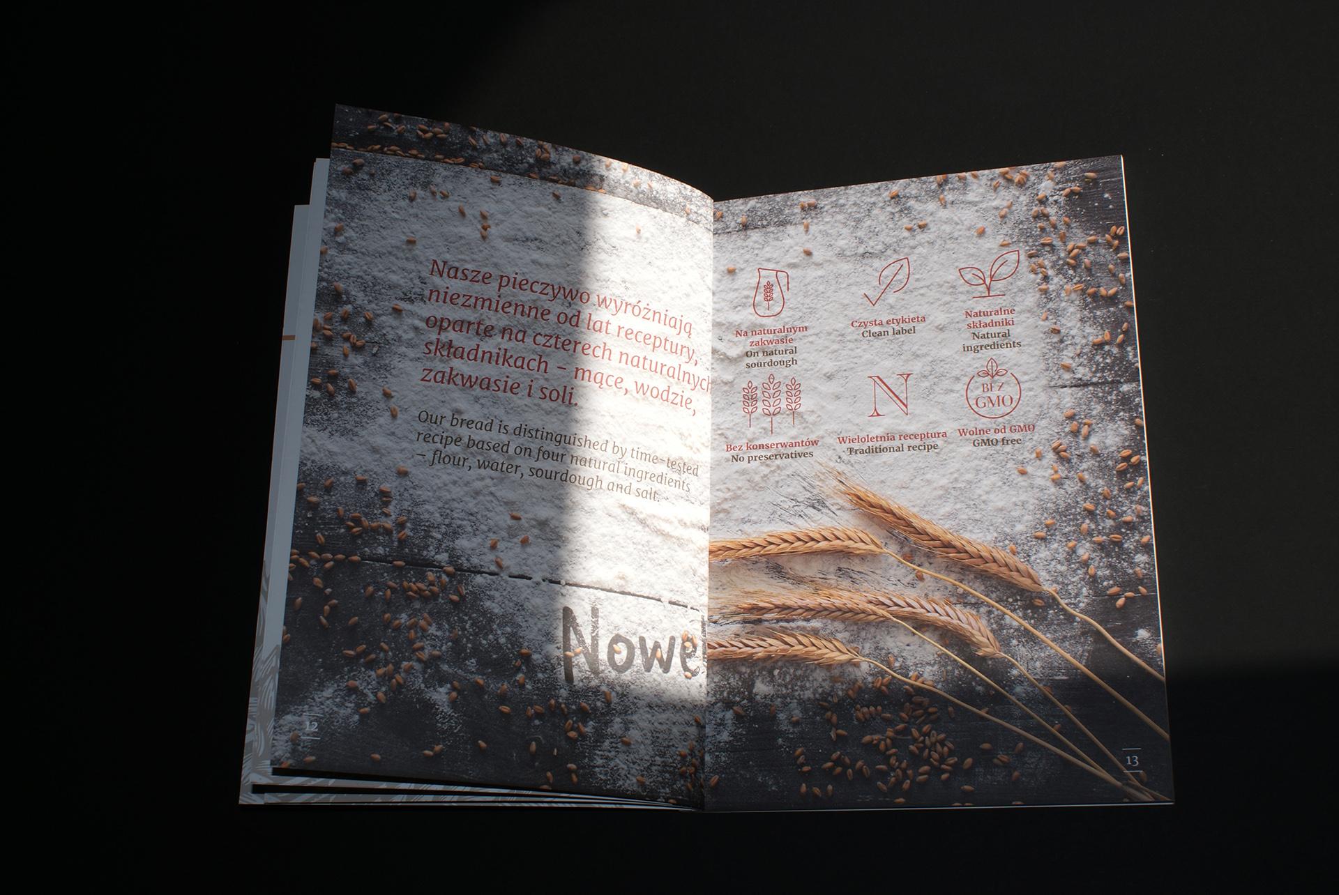 Bakery brochure design