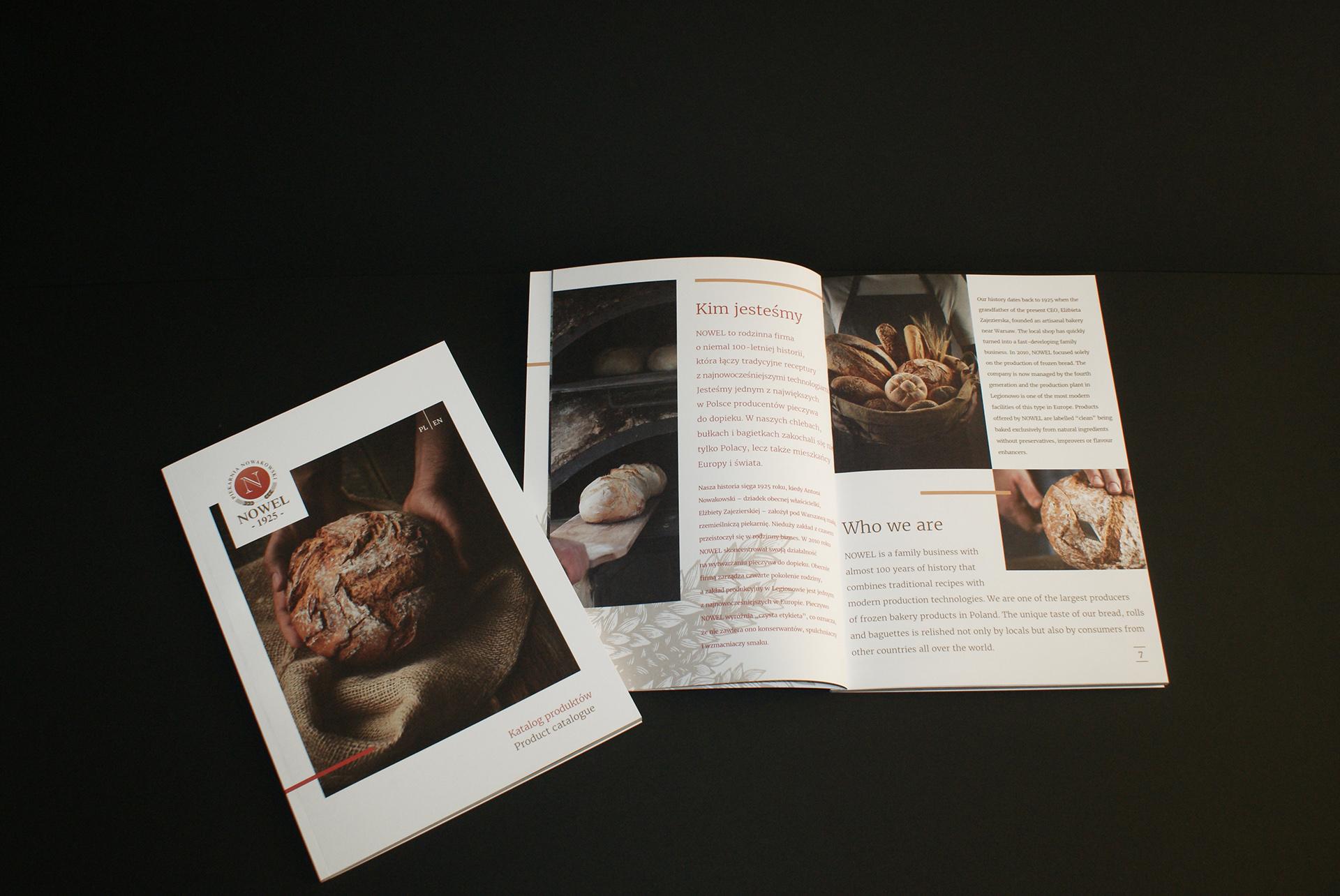 Nowel Bakery Brochure Design