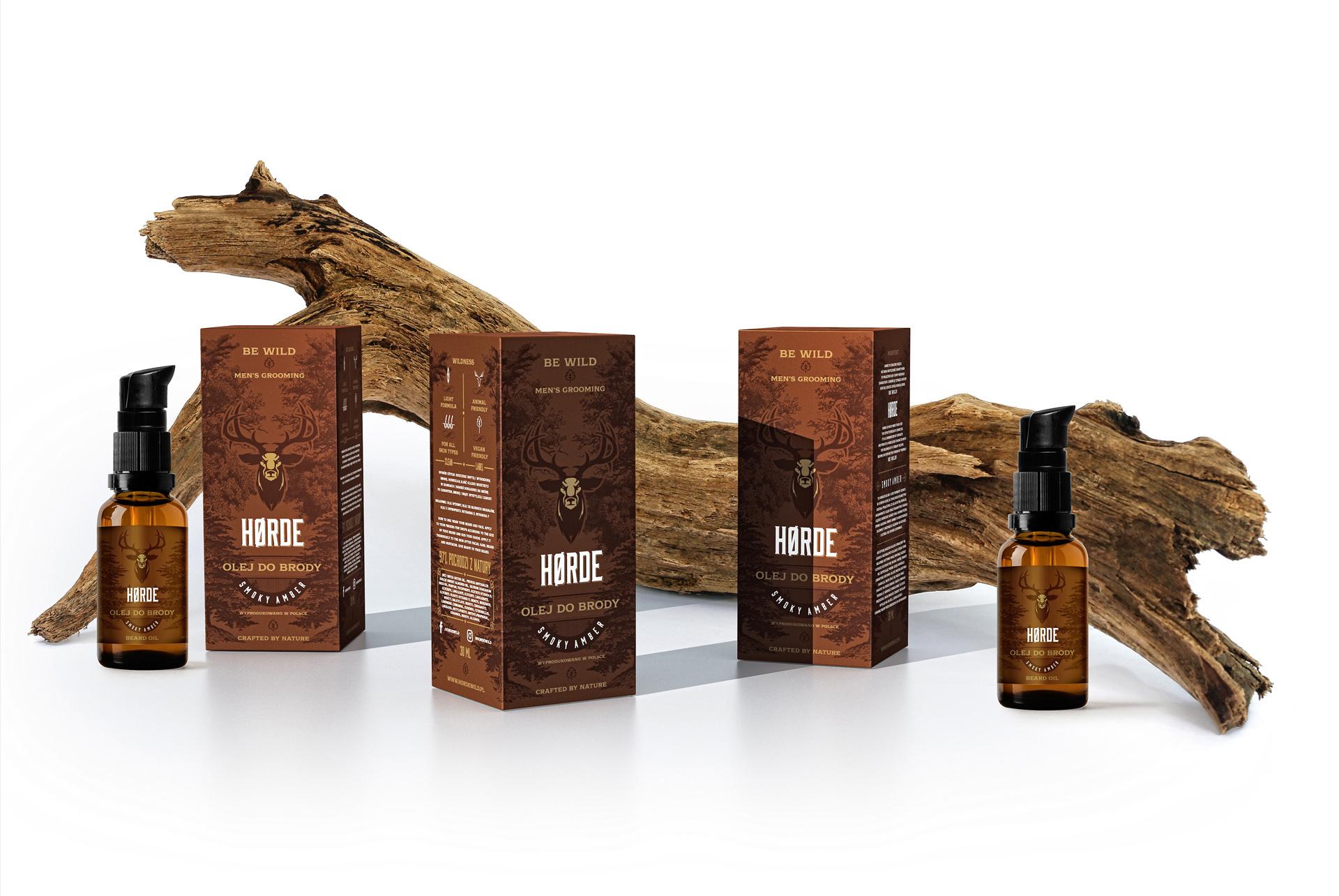 Horde Range Męskie Naturalne Kosmetyki Barber