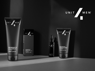 Branding Mens Cosmetics Unit4Men