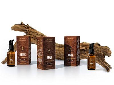 Horde Men's Grooming Branding